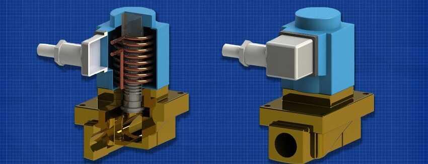 cấu tạo của van điện từ