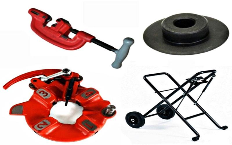 Những phụ kiện có thể sử dụng kèm hoặc thay thế cho máy tiện ren ống