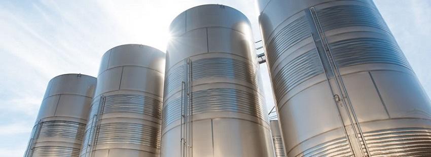 Những silo này sẽ không thể được chế tạo nếu không có may loc ton