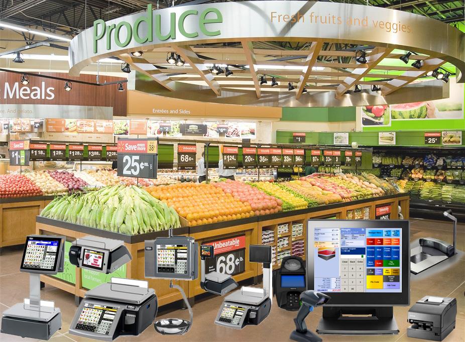 các loại cân dùng trong siêu thị