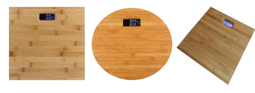 Cân sức khỏe mặt gỗ