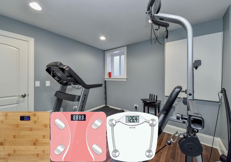 cân sức khỏe phòng gym
