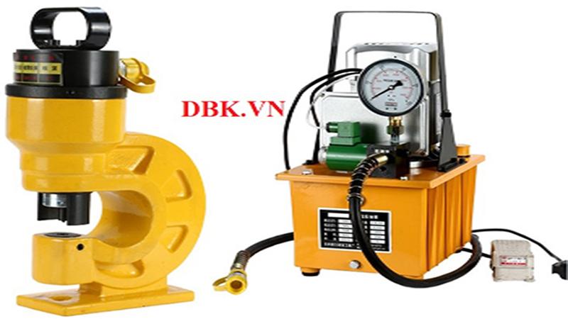 Chuyên bán máy đột lỗ thủy lực tại DBK,VN