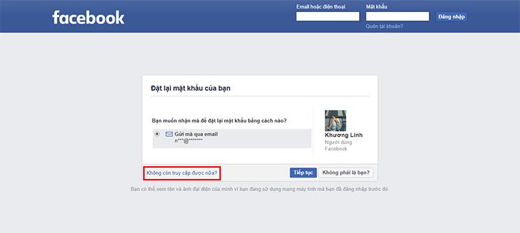 bảo mật nick facebook