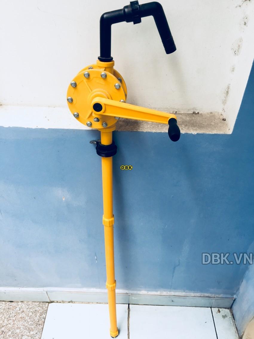 Bơm quay tay hóa chất mạnh DBK LG-1015F