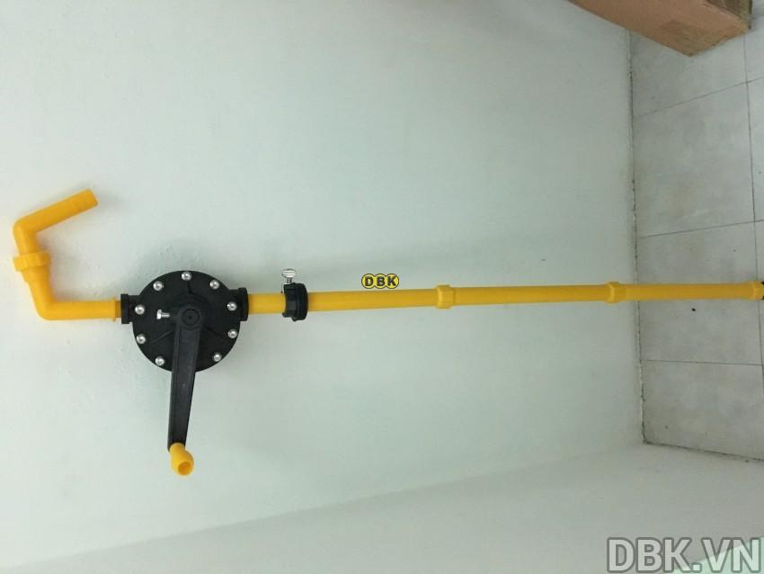 Bơm quay tay hóa chất mạnh DBK LG-1015G