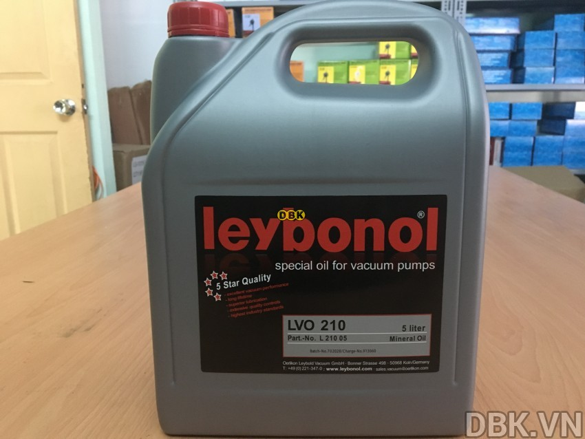 Dầu chân không Leybold Leybonol LVO 210