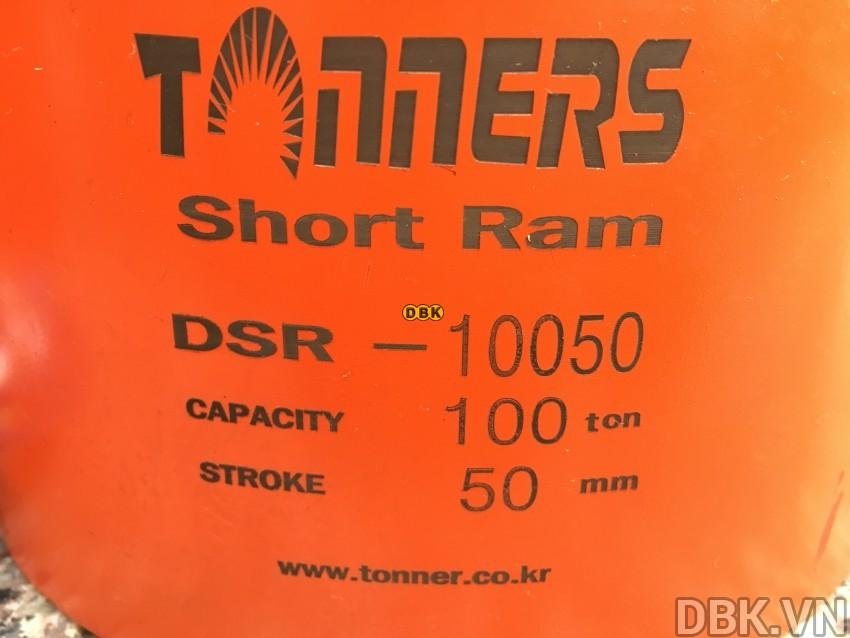 Kích thủy lực 100 tấn,</p> 50mm TONNERS DSR-10050