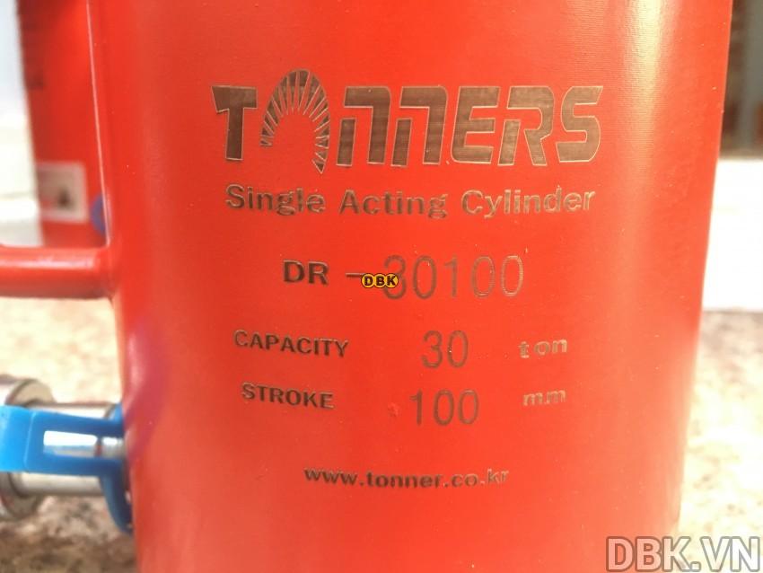 Kích thủy lực 30 tấn,</p></p></p> 100mm TONNERS DR-30100