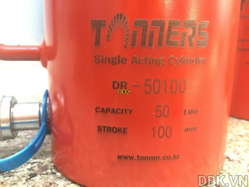 Kích thủy lực 50 tấn,</p></p></p> 100mm TONNERS DR-50100