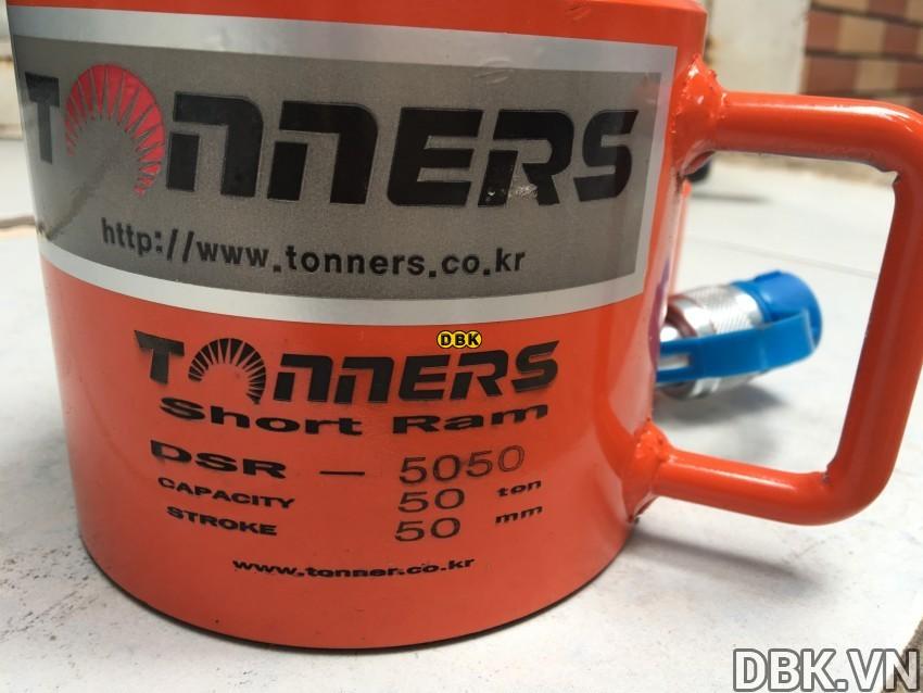 Kích thủy lực 50 tấn 50mm TONNERS DSR-5050