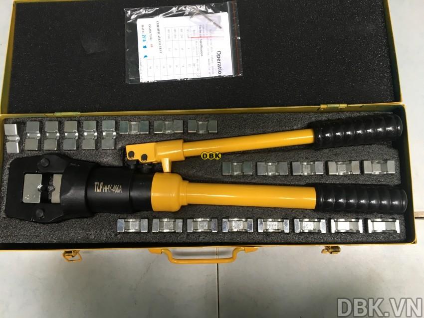 Kìm bấm cos thủy lực 400 mm2 14 tấn TLP HHY-400A