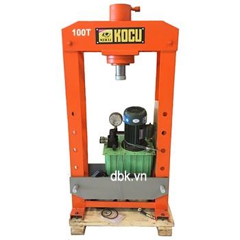 Máy ép thủy lực dùng điện có đồng hồ KOCU DMY-100T