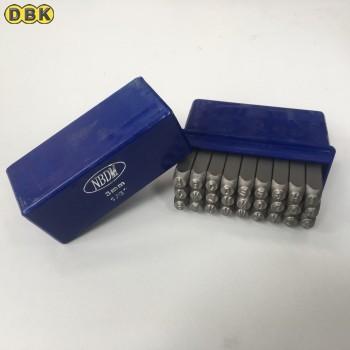 Bộ đóng chữ chất liệu thép Mỹ 3 mm DI CHUANG