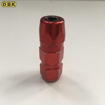 Vú bơm mỡ miệng phẳng chống cháy nổ (đỏ) DI CHUANG